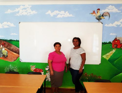 Waitrose Foundation visits Rietfontein crèche