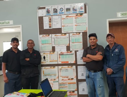 Graaff Fruit's Workplace Challenge is ongoing and progressing well