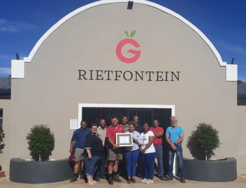 Rietfontein receives the Delecta Producer of the Year Award for 2020